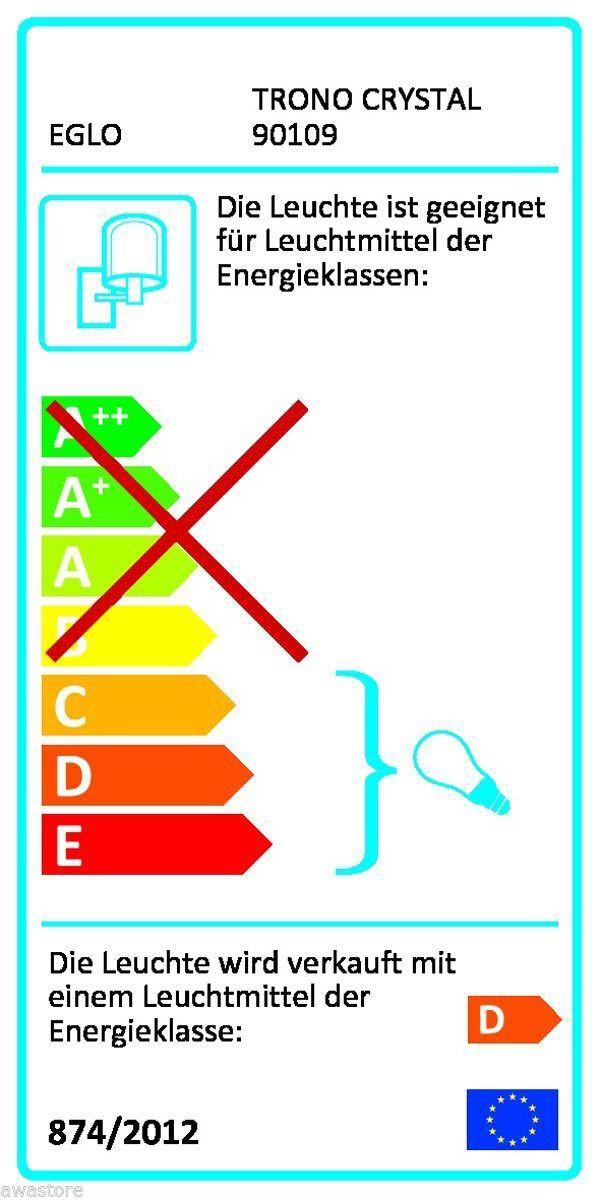 eglo lampe mit bewegungsmelder sensor aussenleuchte edelstahl 90109 ebay. Black Bedroom Furniture Sets. Home Design Ideas