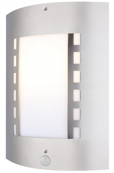 aussenleuchte mit bewegungsmelder edelstahl sensor aussenlampe aussenbeleuchtung aussenleuchten. Black Bedroom Furniture Sets. Home Design Ideas