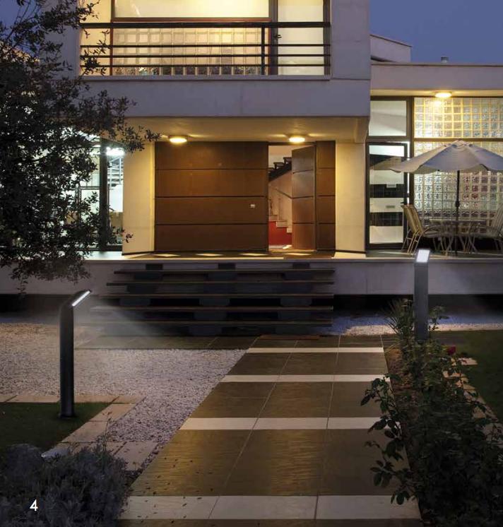 led wandleuchte sensor aussenleuchte oder stehleuchte mit. Black Bedroom Furniture Sets. Home Design Ideas