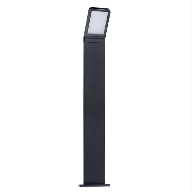 led wandleuchte sensor aussenleuchte oder stehleuchte mit steckdose schwarz ebay. Black Bedroom Furniture Sets. Home Design Ideas