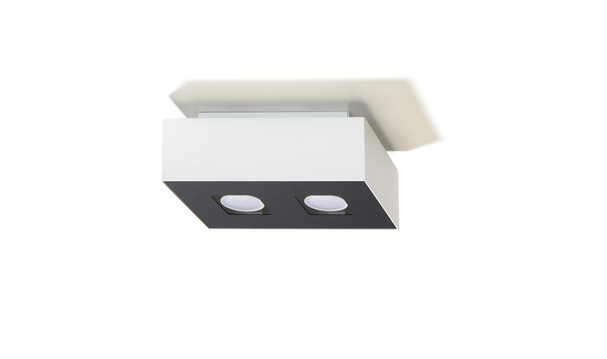 neu mono deckenleuchte bad flur deckenlampe weiß schwarz 1 er, 2, Badezimmer ideen